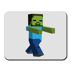 Коврик для мыши Зомби Minecraft - FatLine
