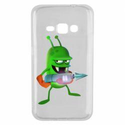 Чехол для Samsung J1 2016 Zombie catchers