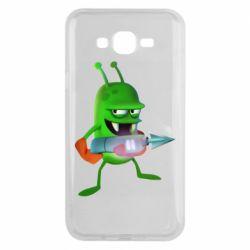 Чехол для Samsung J7 2015 Zombie catchers