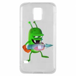 Чехол для Samsung S5 Zombie catchers