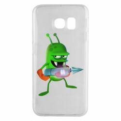 Чехол для Samsung S6 EDGE Zombie catchers