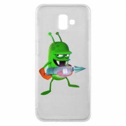 Чехол для Samsung J6 Plus 2018 Zombie catchers