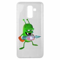 Чехол для Samsung J8 2018 Zombie catchers