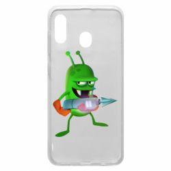Чехол для Samsung A20 Zombie catchers