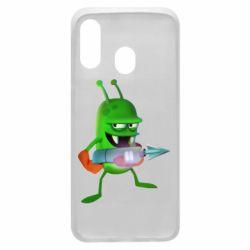 Чехол для Samsung A40 Zombie catchers