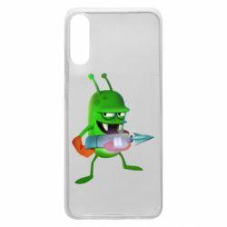 Чехол для Samsung A70 Zombie catchers