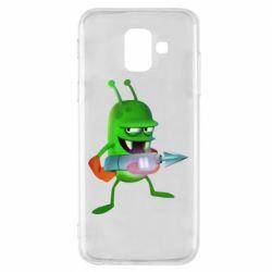Чехол для Samsung A6 2018 Zombie catchers