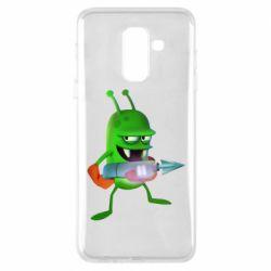 Чехол для Samsung A6+ 2018 Zombie catchers