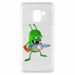 Чехол для Samsung A8 2018 Zombie catchers