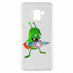 Чехол для Samsung A8+ 2018 Zombie catchers