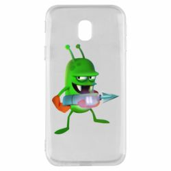 Чехол для Samsung J3 2017 Zombie catchers