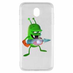 Чехол для Samsung J7 2017 Zombie catchers