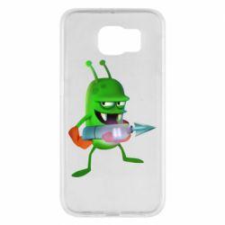 Чехол для Samsung S6 Zombie catchers
