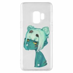 Чохол для Samsung S9 Zombie girl with beetles