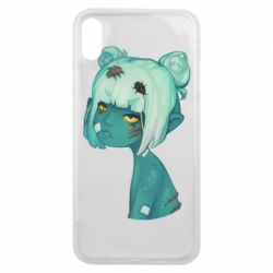 Чохол для iPhone Xs Max Zombie girl with beetles