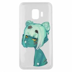 Чохол для Samsung J2 Core Zombie girl with beetles