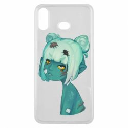 Чохол для Samsung A6s Zombie girl with beetles