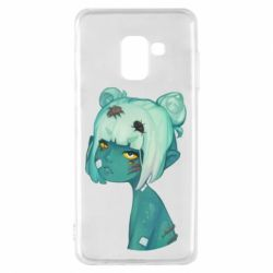 Чохол для Samsung A8 2018 Zombie girl with beetles