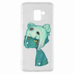 Чохол для Samsung A8+ 2018 Zombie girl with beetles