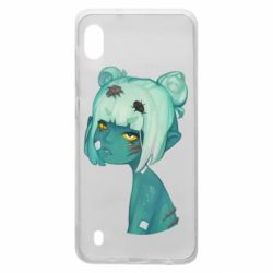 Чохол для Samsung A10 Zombie girl with beetles