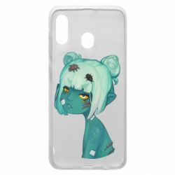 Чохол для Samsung A20 Zombie girl with beetles