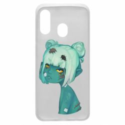 Чохол для Samsung A40 Zombie girl with beetles