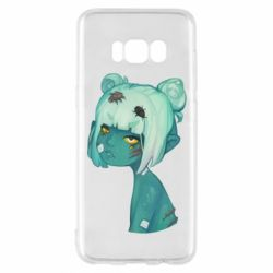 Чохол для Samsung S8 Zombie girl with beetles