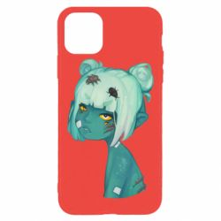 Чохол для iPhone 11 Pro Max Zombie girl with beetles