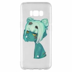 Чохол для Samsung S8+ Zombie girl with beetles