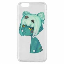 Чохол для iPhone 6/6S Zombie girl with beetles