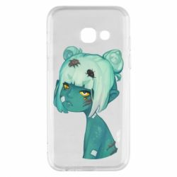 Чохол для Samsung A3 2017 Zombie girl with beetles