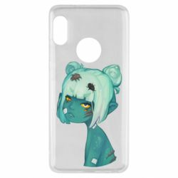 Чехол для Xiaomi Redmi Note 5 Zombie girl with beetles