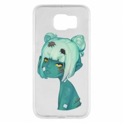 Чохол для Samsung S6 Zombie girl with beetles