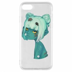 Чохол для iPhone 7 Zombie girl with beetles
