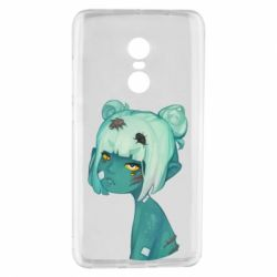 Чехол для Xiaomi Redmi Note 4 Zombie girl with beetles