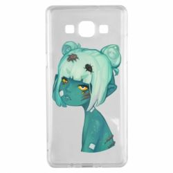 Чохол для Samsung A5 2015 Zombie girl with beetles