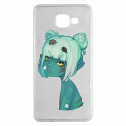 Чохол для Samsung A5 2016 Zombie girl with beetles
