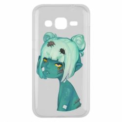 Чохол для Samsung J2 2015 Zombie girl with beetles