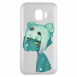 Чохол для Samsung J2 2018 Zombie girl with beetles