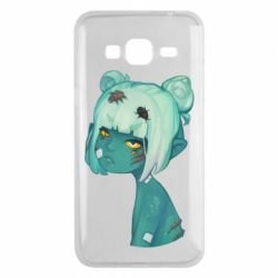 Чохол для Samsung J3 2016 Zombie girl with beetles