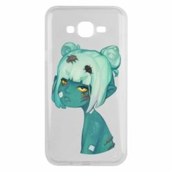 Чохол для Samsung J7 2015 Zombie girl with beetles