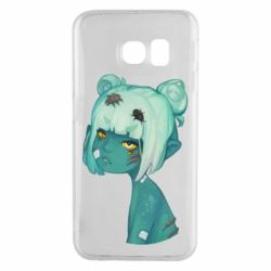 Чохол для Samsung S6 EDGE Zombie girl with beetles