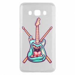 Чохол для Samsung J5 2016 Zombie Guitar with Drum Sticks