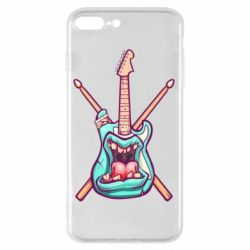 Чохол для iPhone 8 Plus Zombie Guitar with Drum Sticks
