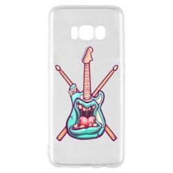 Чохол для Samsung S8 Zombie Guitar with Drum Sticks