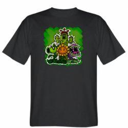 Мужская футболка Zombie vs Plants players