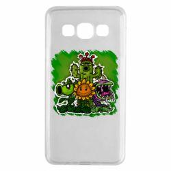 Чехол для Samsung A3 2015 Zombie vs Plants players