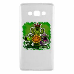 Чехол для Samsung A7 2015 Zombie vs Plants players