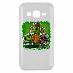Чехол для Samsung J2 2015 Zombie vs Plants players