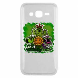 Чехол для Samsung J5 2015 Zombie vs Plants players